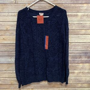 Mossimo Supply Co. navy blue sweater